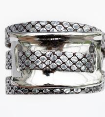 Bracelet triple tours URSA Gris