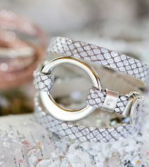 Bracelet diba Gris Brun
