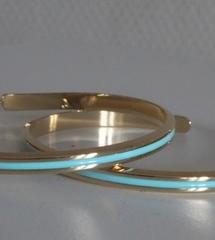 Créole Or ligne turquoise
